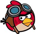 Red, personaje de los Angry Birds