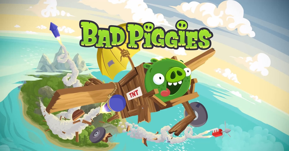 Bad Piggies, spin-off de los Angry Birds