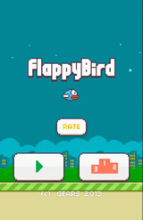Captura de Flappy Bird