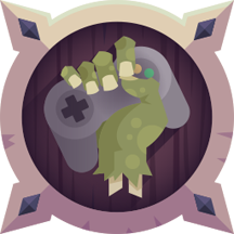 Trofeo Gamer zombie