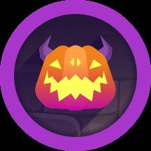 Cursed Pumpkin trophy